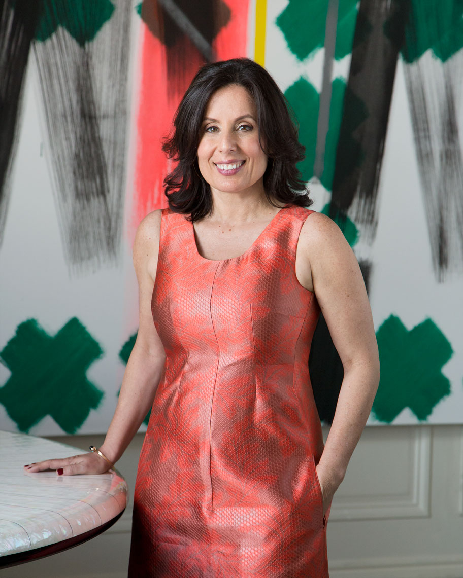 Pam Jaccarino-Editor in Chief of Luxe Interiors + Design